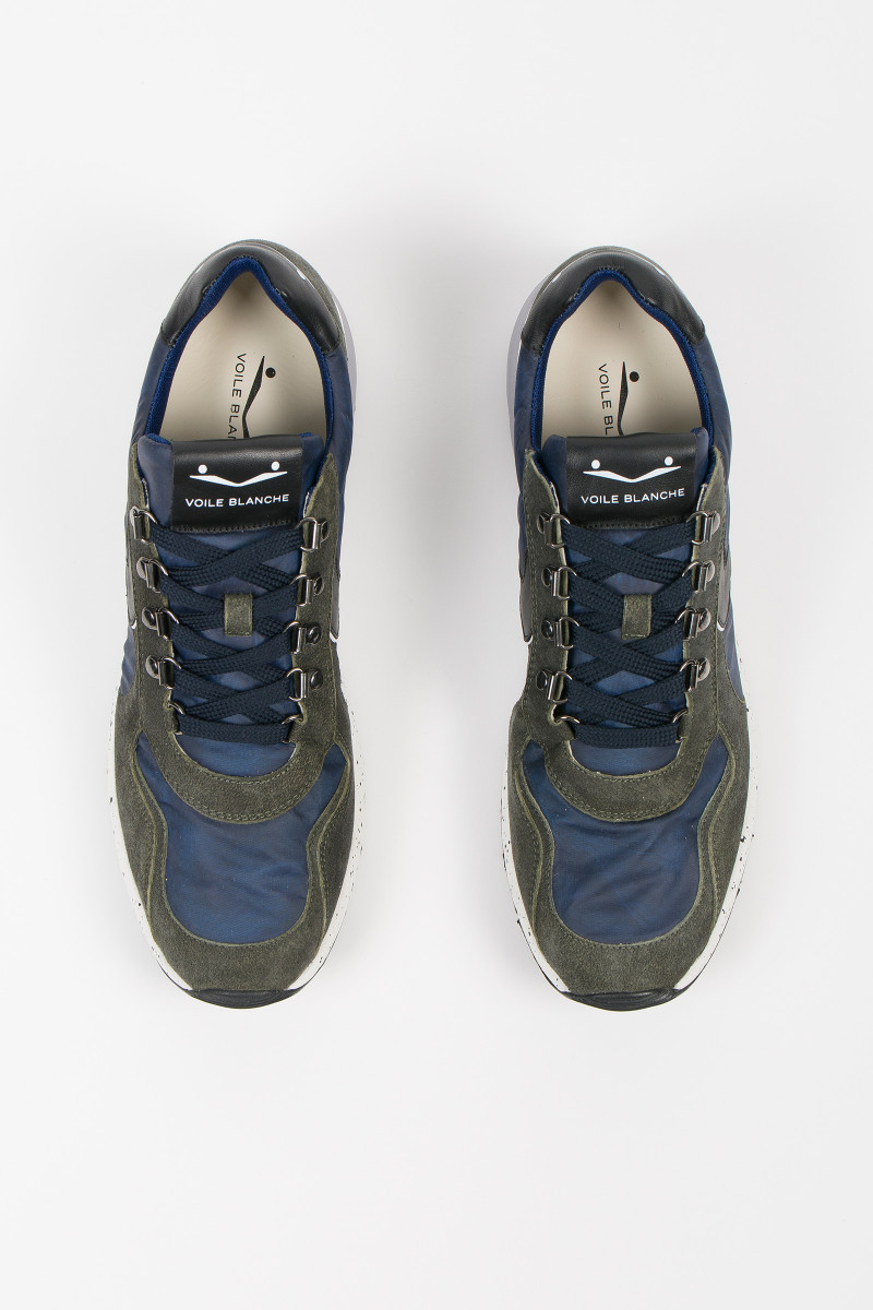 Zapatillas Lenny Hook Army-Blue portada