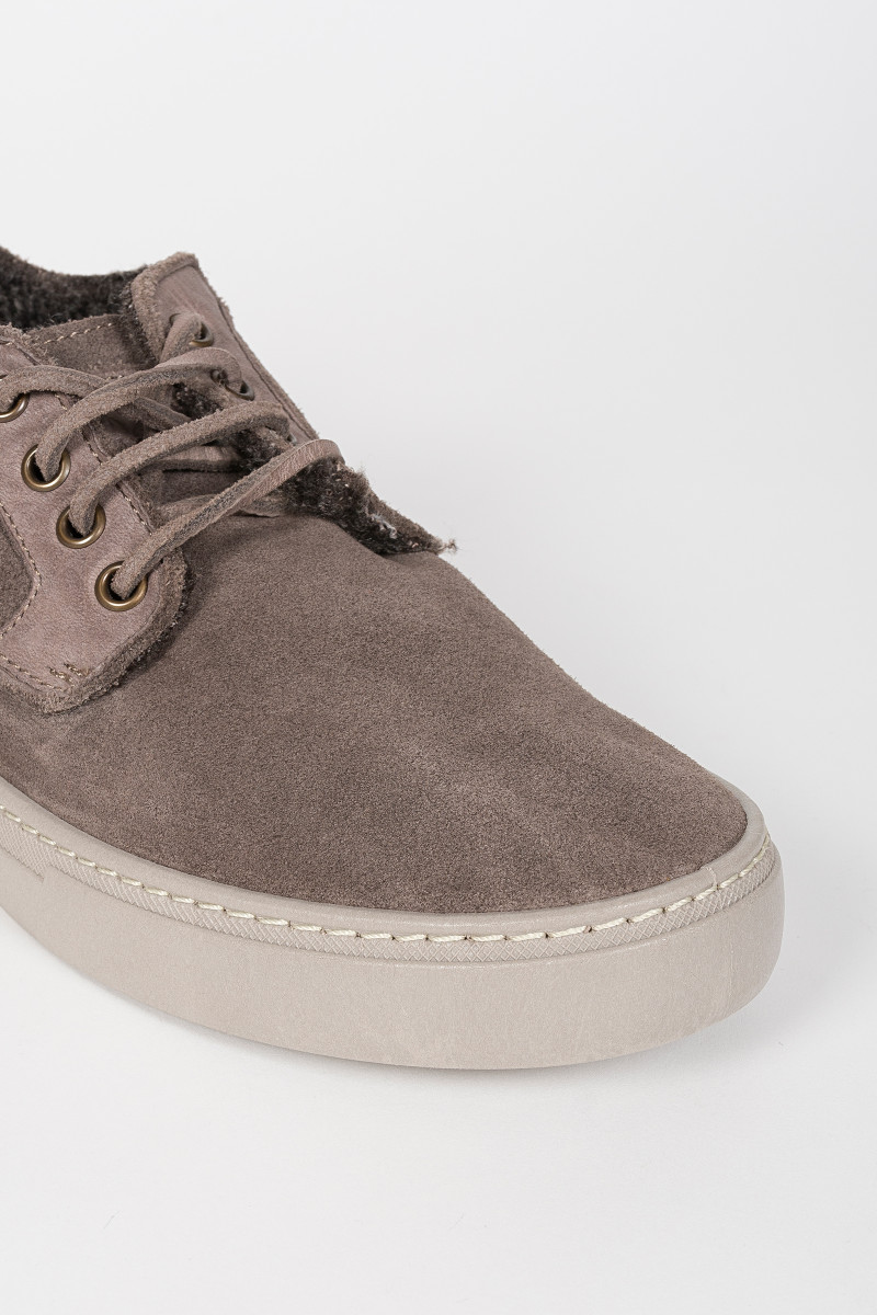 Taupe Suede Sneakers cover