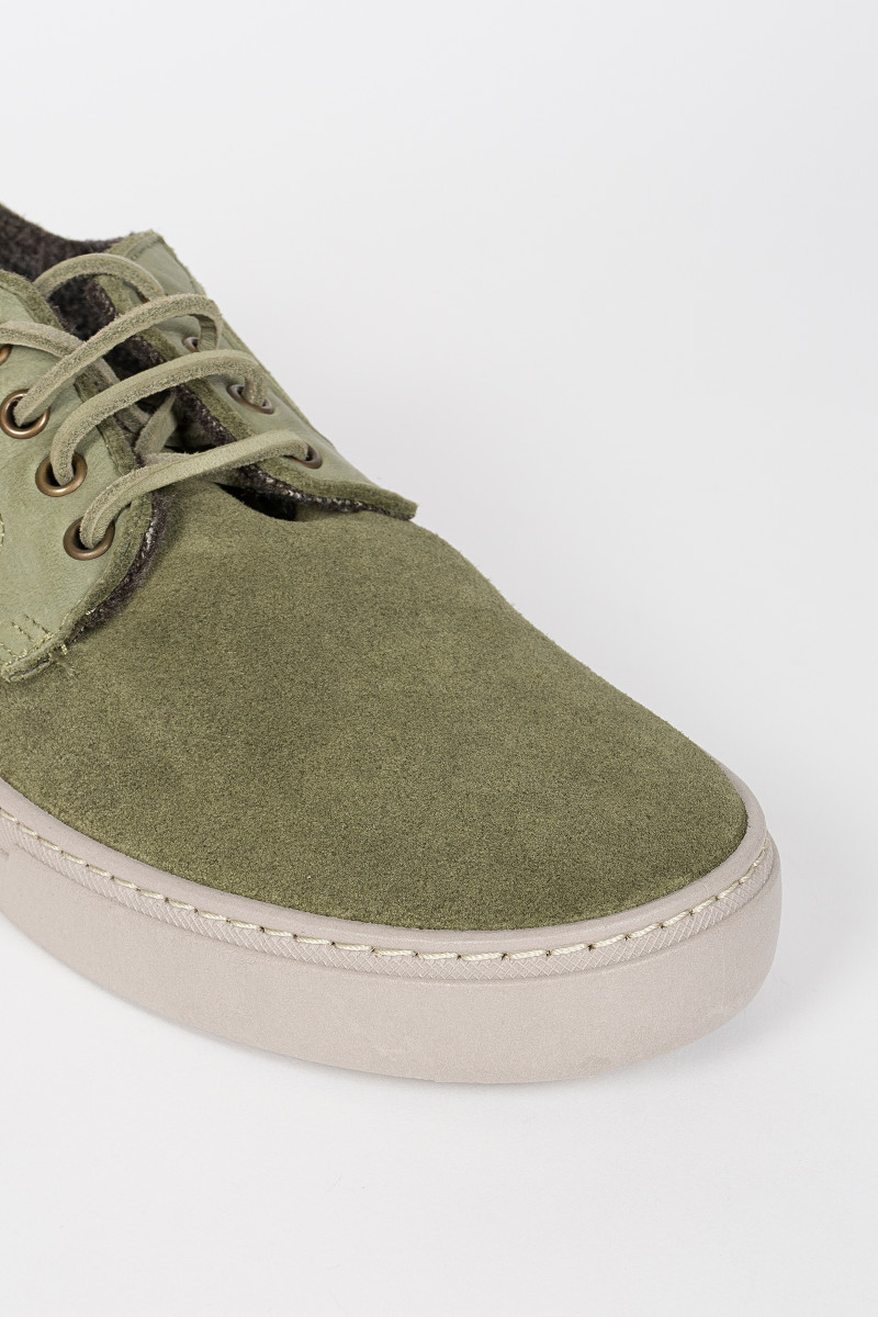 Green Suede Sneakers cover