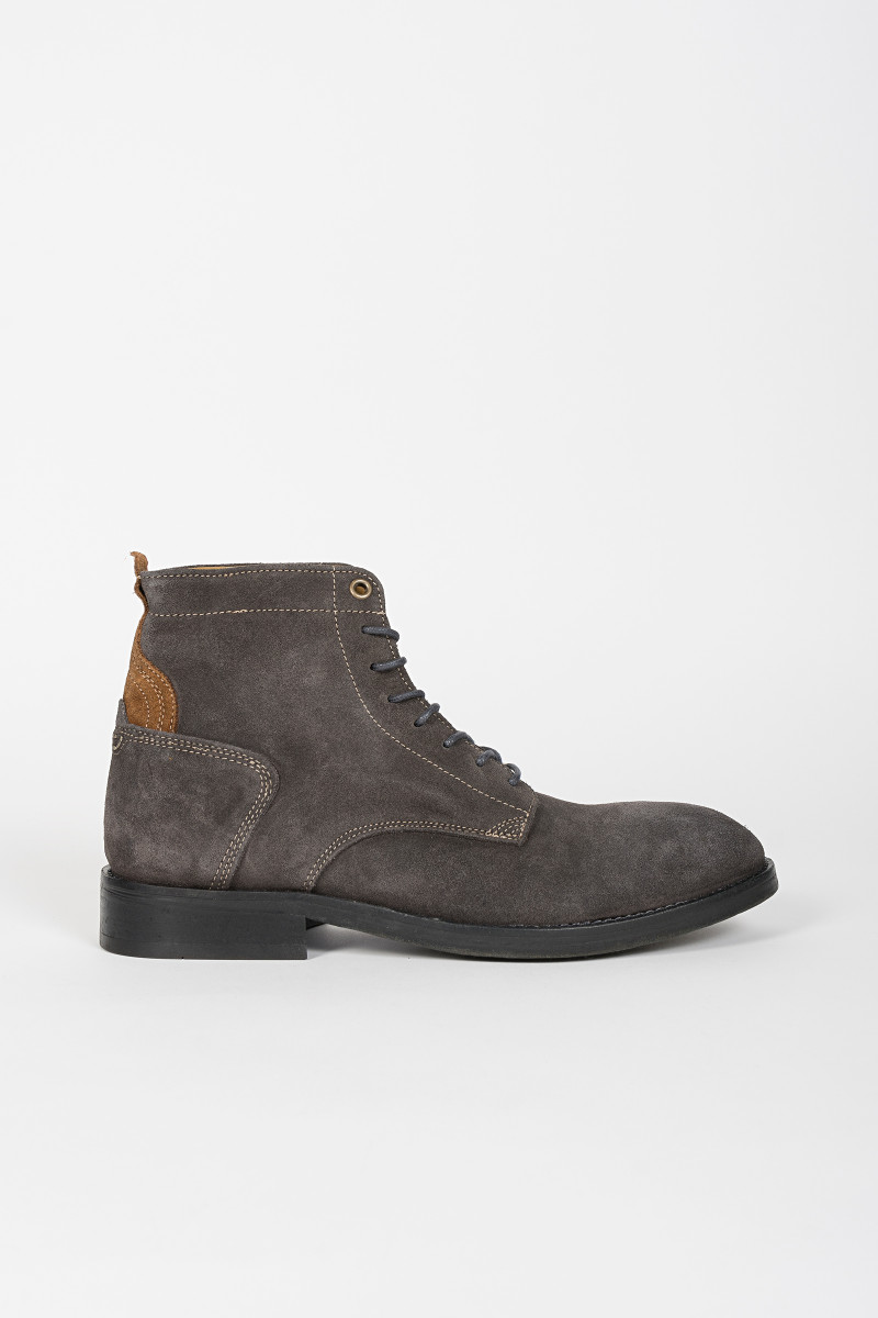 Grey Suede Ankle Boot cover