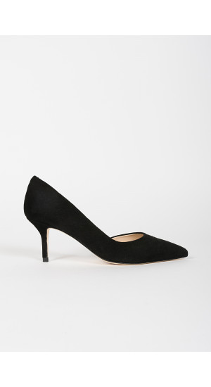 Black D´Orsay Pump cover