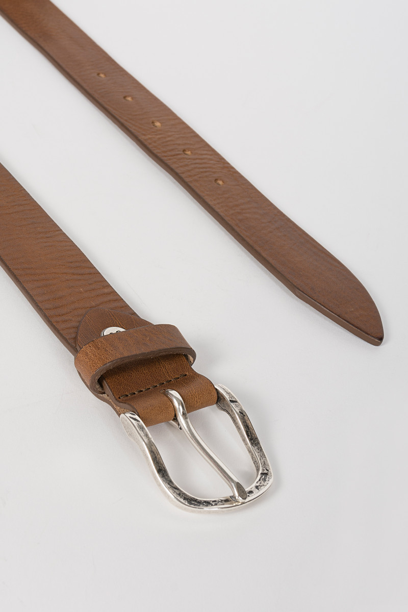 Cognac Leather Belt cover