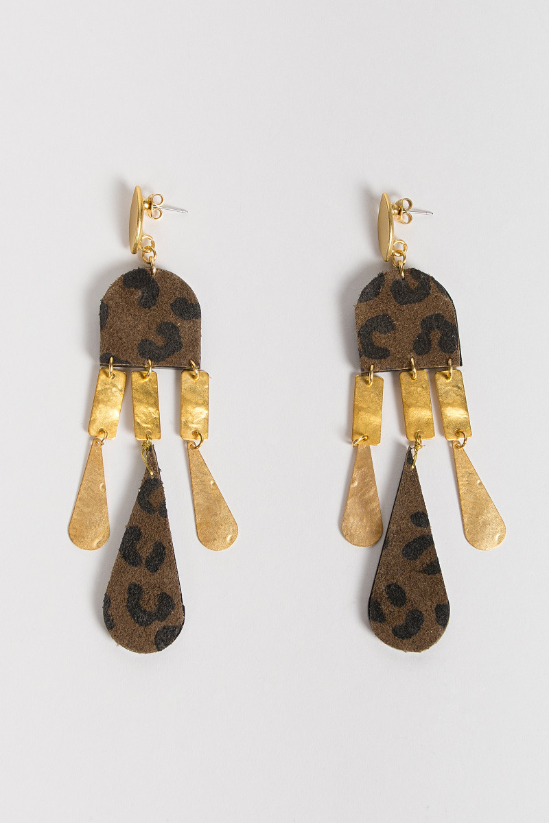 Animal Print Earrings cover
