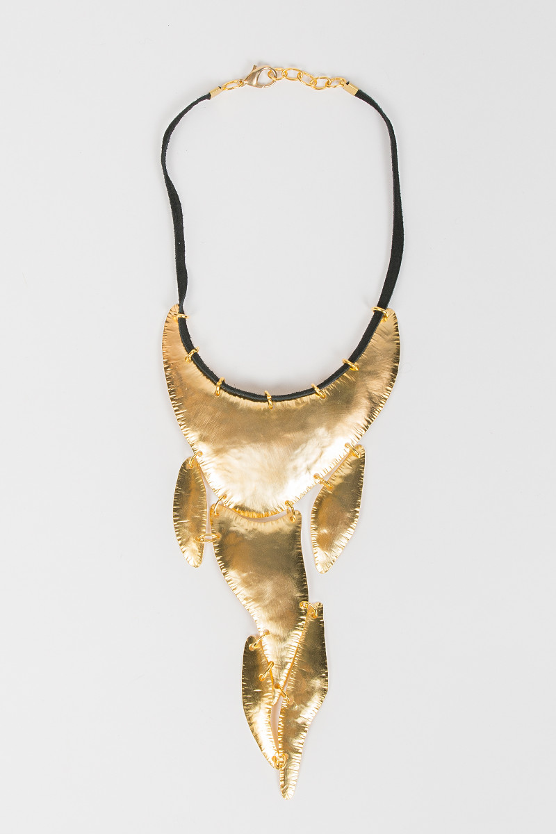 Golden Pieces Necklace cover